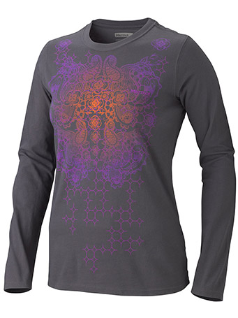 Women's Lattice Tee LS