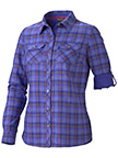 Women's Vanessa Plaid LS